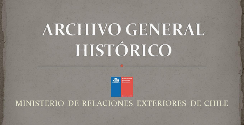 Archivo General Histórico de Chile