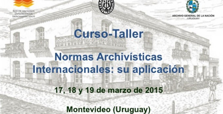 Curso-Taller Normas Archivísticas