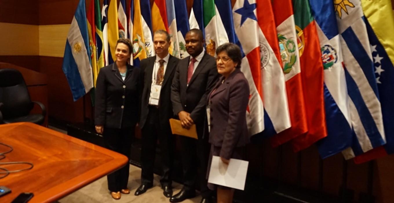 Entrega de  documentos digitales, relación bilateral Cuba y Haití