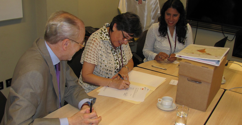 Transferencia de la Secretaría Ejecutiva a la Cancillería Uruguaya