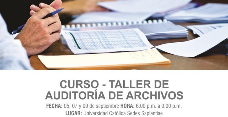 Curso-Taller: Auditoría de Archivos