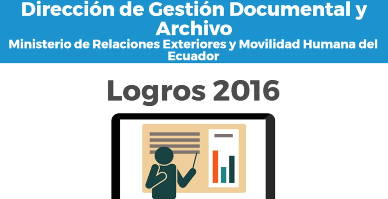 Ecuador: Logros 2016