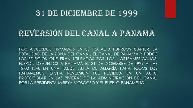Diplomacia panameña. Fechas conmemorativas.