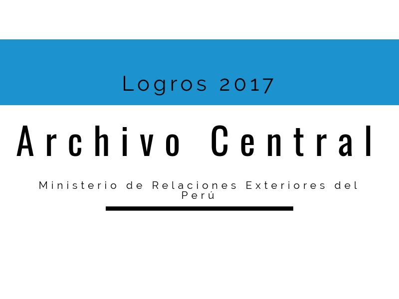 Perú: Logros 2017