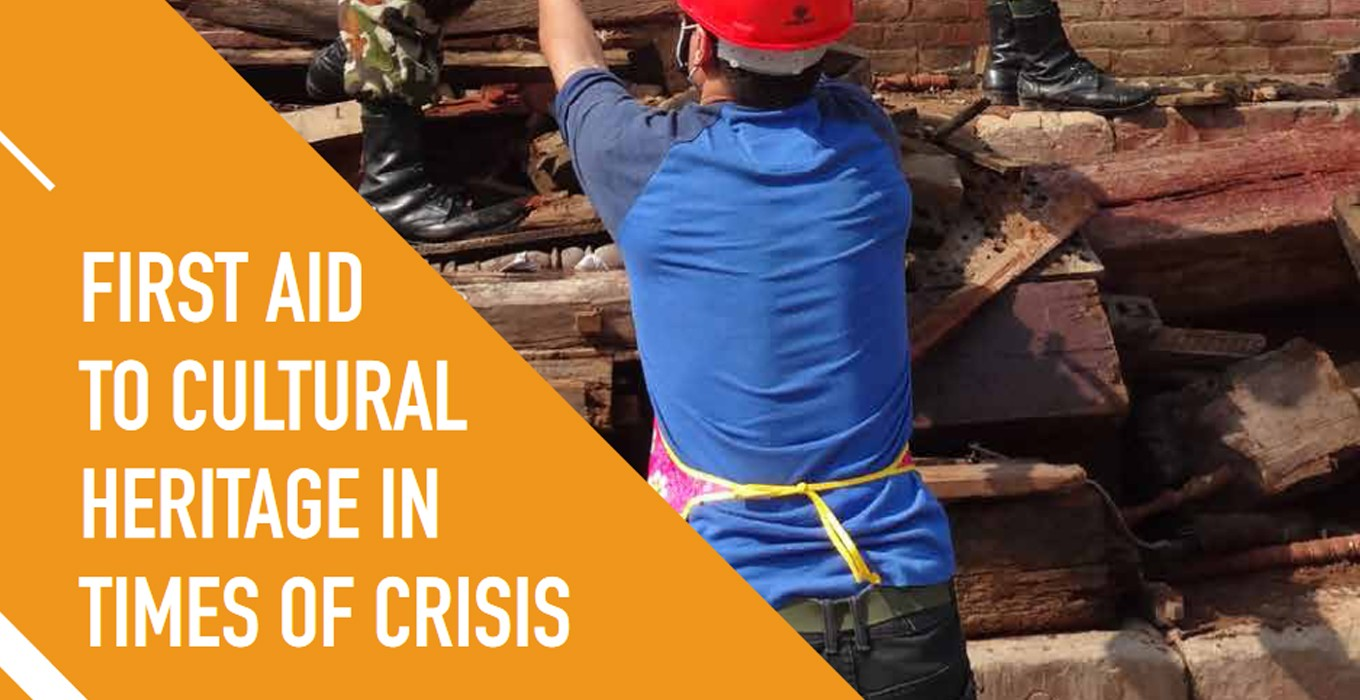 Pioneering Resource on First Aid to Cultural Heritage