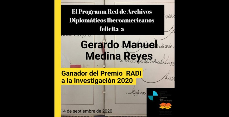 Resultados del Premio RADI a la Investigación, 2020